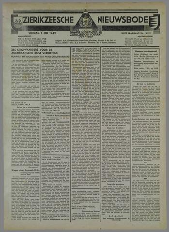 Zierikzeesche Nieuwsbode 1942-05-01