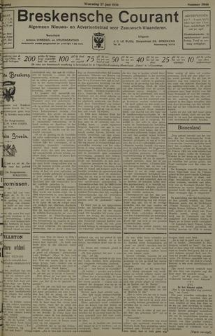 Breskensche Courant 1934-06-27