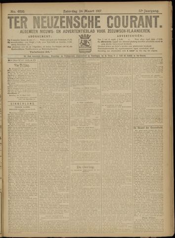 Ter Neuzensche Courant. Algemeen Nieuws- en Advertentieblad voor Zeeuwsch-Vlaanderen / Neuzensche Courant ... (idem) / (Algemeen) nieuws en advertentieblad voor Zeeuwsch-Vlaanderen 1917-03-24