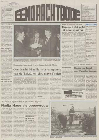 Eendrachtbode (1945-heden)/Mededeelingenblad voor het eiland Tholen (1944/45) 1989-01-12