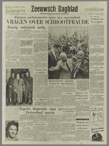 Zeeuwsch Dagblad 1959-09-25