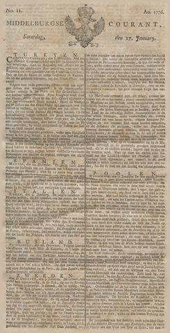 Middelburgsche Courant 1776-01-27