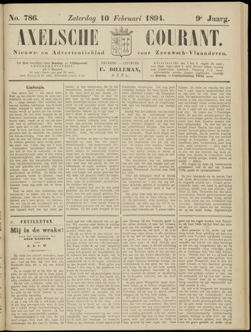 Axelsche Courant 1894-02-10