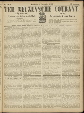 Ter Neuzensche Courant. Algemeen Nieuws- en Advertentieblad voor Zeeuwsch-Vlaanderen / Neuzensche Courant ... (idem) / (Algemeen) nieuws en advertentieblad voor Zeeuwsch-Vlaanderen 1895-09-05