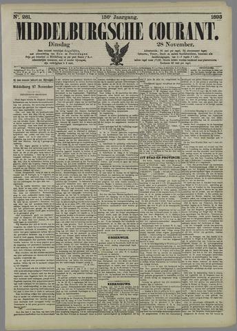 Middelburgsche Courant 1893-11-28