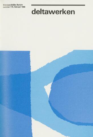 Driemaandelijks bericht Deltawerken 1986-02-01