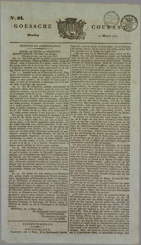 Goessche Courant 1833-03-25