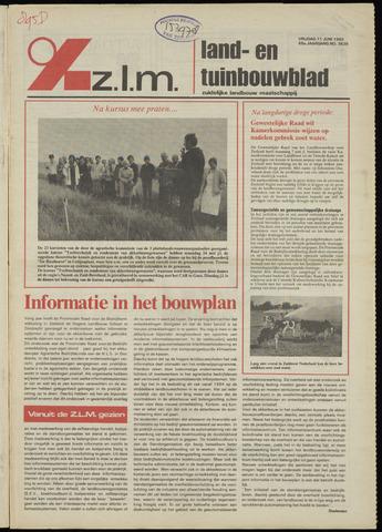Zeeuwsch landbouwblad ... ZLM land- en tuinbouwblad 1982-06-11