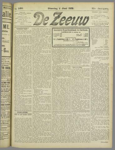 De Zeeuw. Christelijk-historisch nieuwsblad voor Zeeland 1921-06-07