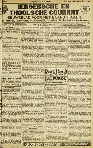 Ierseksche en Thoolsche Courant 1929-05-17