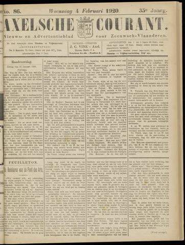 Axelsche Courant 1920-02-04