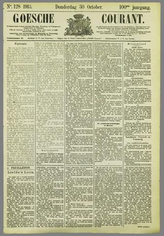 Goessche Courant 1913-10-30