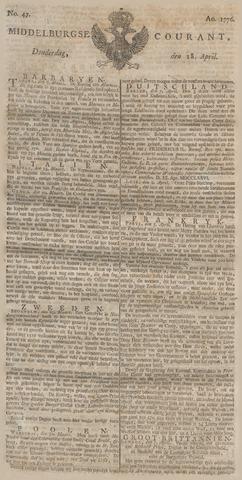 Middelburgsche Courant 1776-04-18