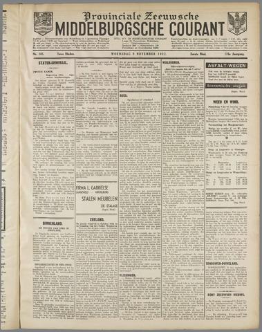 Middelburgsche Courant 1932-11-09