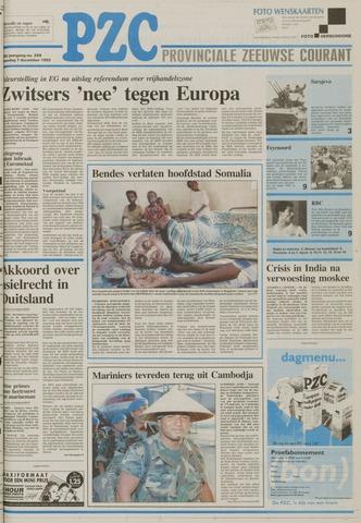 Provinciale Zeeuwse Courant 1992-12-07