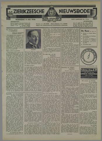 Zierikzeesche Nieuwsbode 1936-07-08