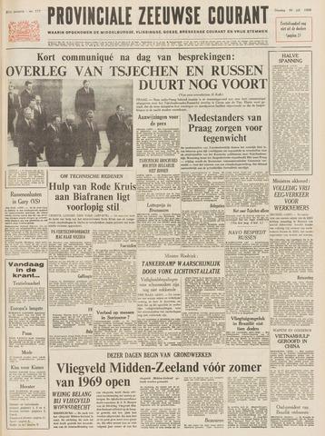 Provinciale Zeeuwse Courant 1968-07-30