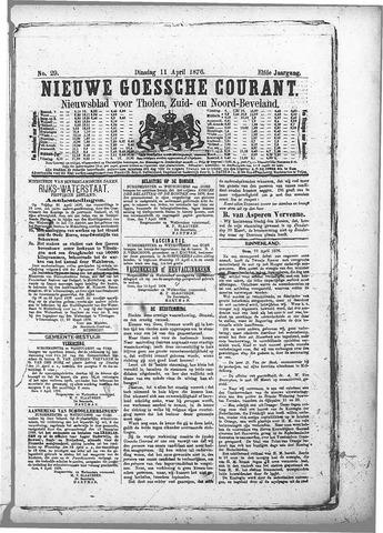 Nieuwe Goessche Courant 1876-04-11