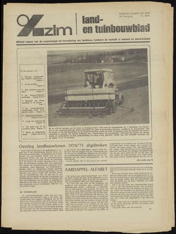Zeeuwsch landbouwblad ... ZLM land- en tuinbouwblad 1970-01-21