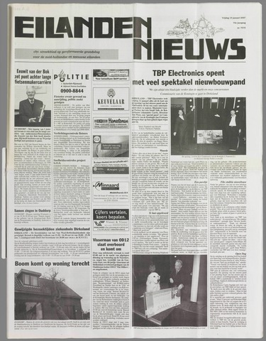 Eilanden-nieuws. Christelijk streekblad op gereformeerde grondslag 2007-01-19