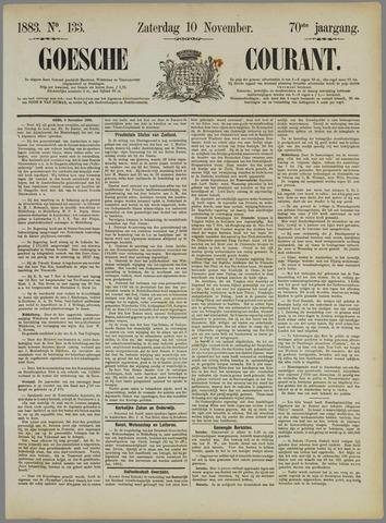 Goessche Courant 1883-11-10