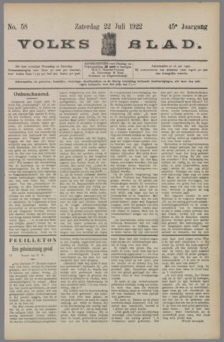 Volksblad 1922-07-22