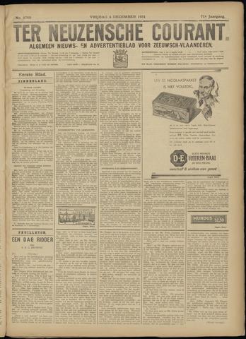 Ter Neuzensche Courant. Algemeen Nieuws- en Advertentieblad voor Zeeuwsch-Vlaanderen / Neuzensche Courant ... (idem) / (Algemeen) nieuws en advertentieblad voor Zeeuwsch-Vlaanderen 1931-12-04