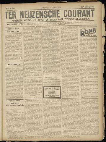Ter Neuzensche Courant. Algemeen Nieuws- en Advertentieblad voor Zeeuwsch-Vlaanderen / Neuzensche Courant ... (idem) / (Algemeen) nieuws en advertentieblad voor Zeeuwsch-Vlaanderen 1929-05-31