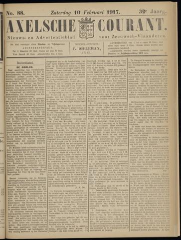 Axelsche Courant 1917-02-10