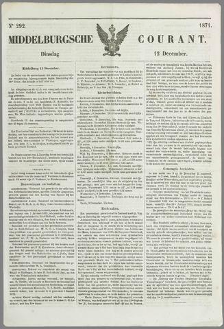 Middelburgsche Courant 1871-12-12