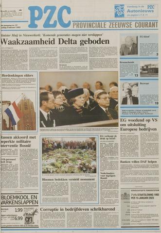 Provinciale Zeeuwse Courant 1993-02-02