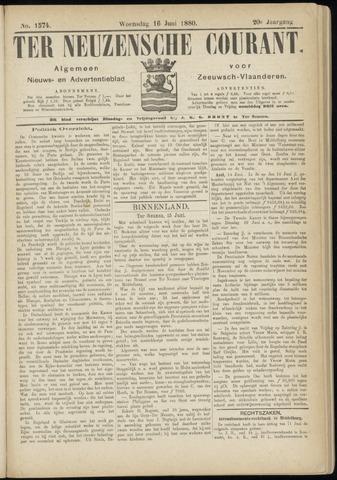 Ter Neuzensche Courant. Algemeen Nieuws- en Advertentieblad voor Zeeuwsch-Vlaanderen / Neuzensche Courant ... (idem) / (Algemeen) nieuws en advertentieblad voor Zeeuwsch-Vlaanderen 1880-06-16