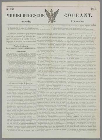 Middelburgsche Courant 1854-11-04