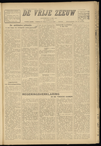 de Vrije Zeeuw 1947-07-24