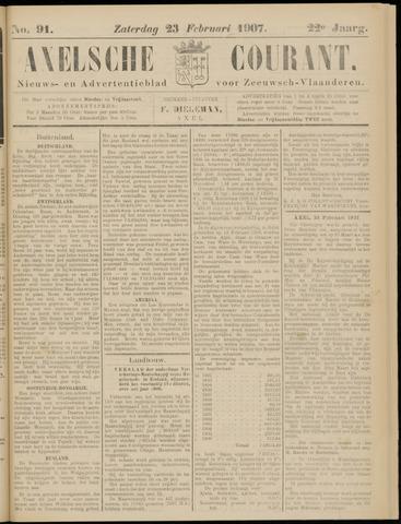 Axelsche Courant 1907-02-23