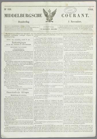 Middelburgsche Courant 1860-11-01