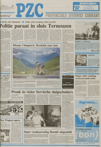 Provinciale Zeeuwse Courant 1993-07-23
