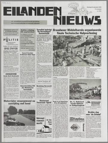Eilanden-nieuws. Christelijk streekblad op gereformeerde grondslag 2000-09-26