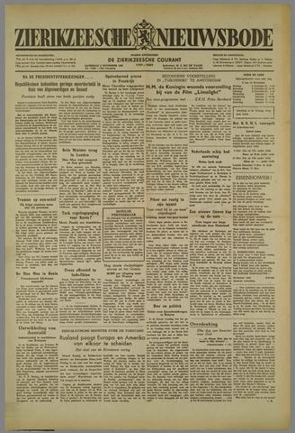Zierikzeesche Nieuwsbode 1952-11-08