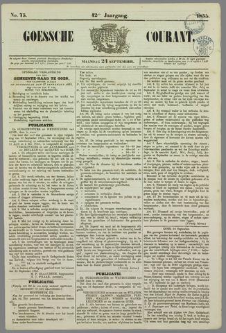Goessche Courant 1855-09-24