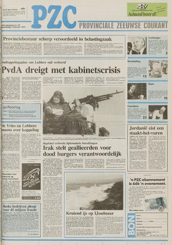 Provinciale Zeeuwse Courant 1991-02-07