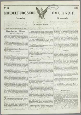 Middelburgsche Courant 1860-01-26