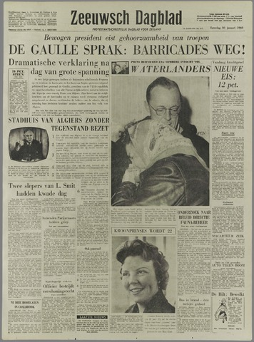 Zeeuwsch Dagblad 1960-01-30