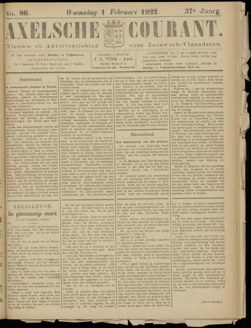 Axelsche Courant 1922-02-01