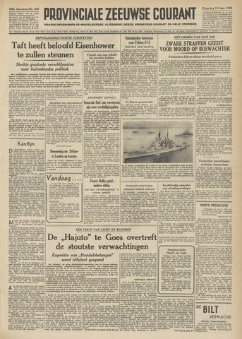 Provinciale Zeeuwse Courant 1952-09-13