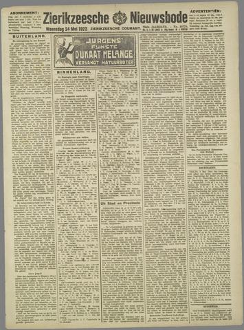 Zierikzeesche Nieuwsbode 1922-05-24