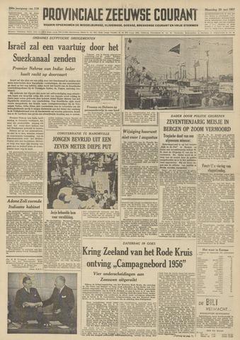 Provinciale Zeeuwse Courant 1957-05-20