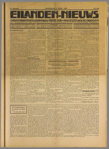 Eilanden-nieuws. Christelijk streekblad op gereformeerde grondslag 1935-04-03