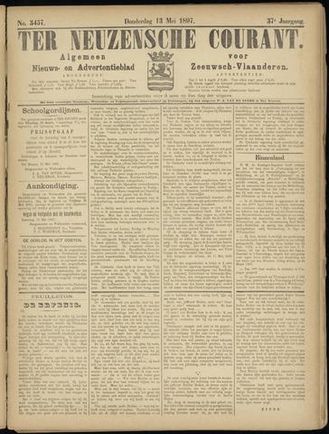 Ter Neuzensche Courant. Algemeen Nieuws- en Advertentieblad voor Zeeuwsch-Vlaanderen / Neuzensche Courant ... (idem) / (Algemeen) nieuws en advertentieblad voor Zeeuwsch-Vlaanderen 1897-05-13