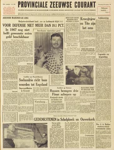 Provinciale Zeeuwse Courant 1963-08-28